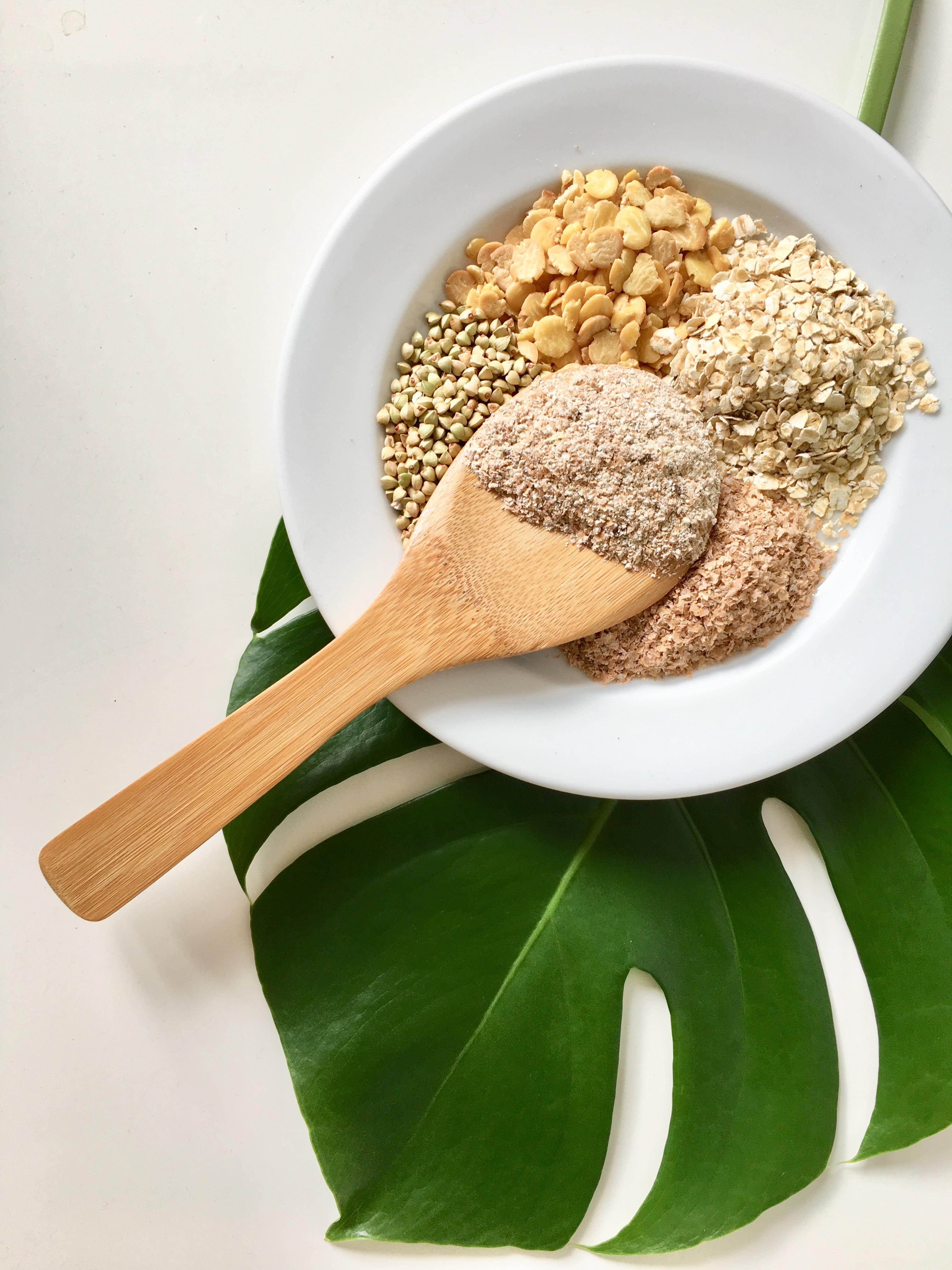 Porridge Grundrezept mit Banane und Zimt: Die Zutaten